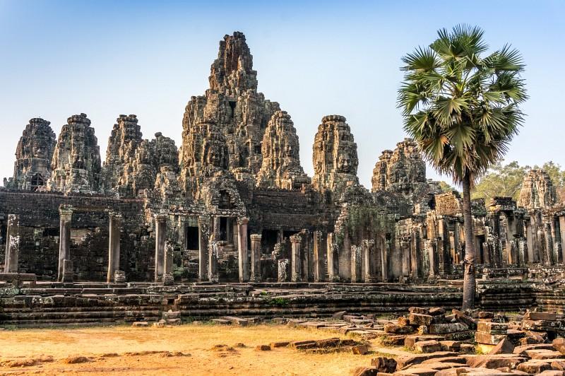 Byon Tempel - der Gesichtertempel