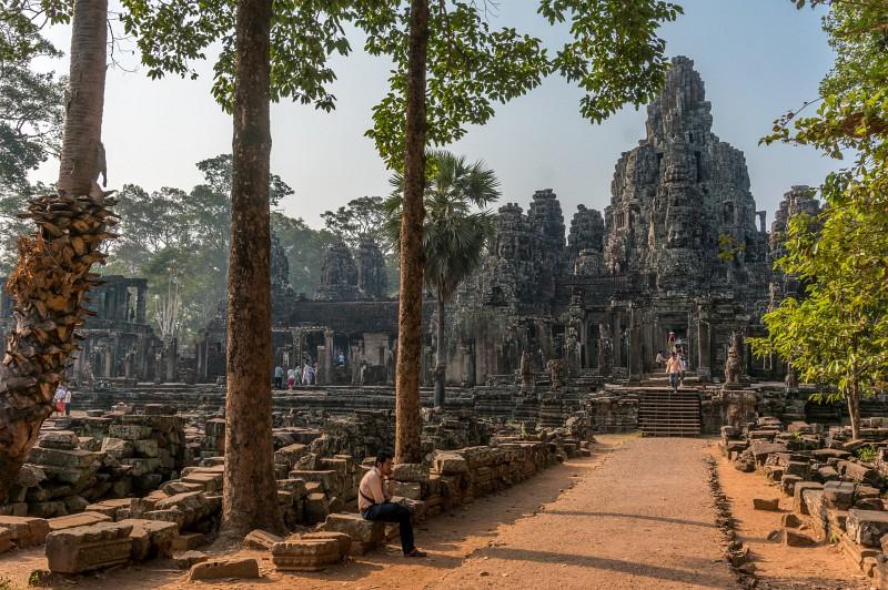 Bayon Tempel - der Gesichtertempel