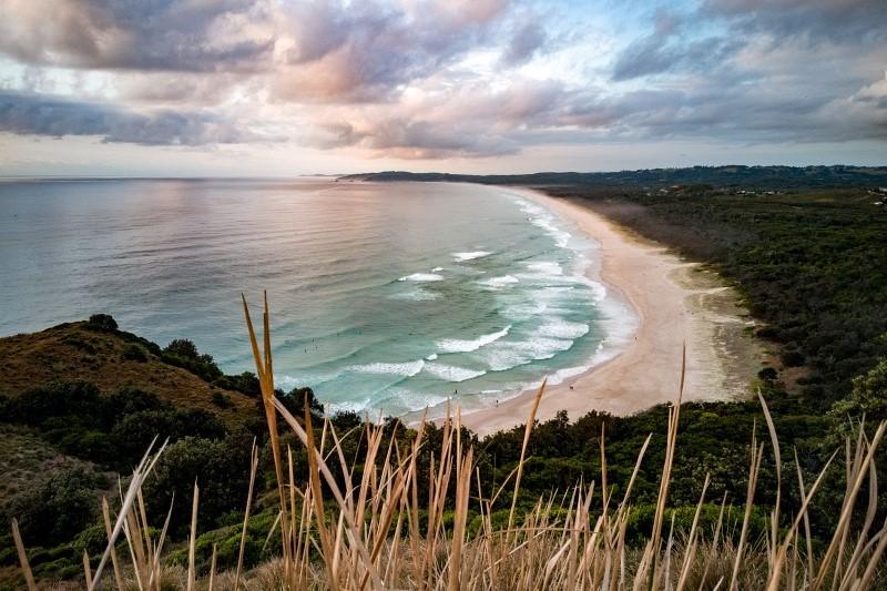 Bucht rund um Noosa Bay in Australien