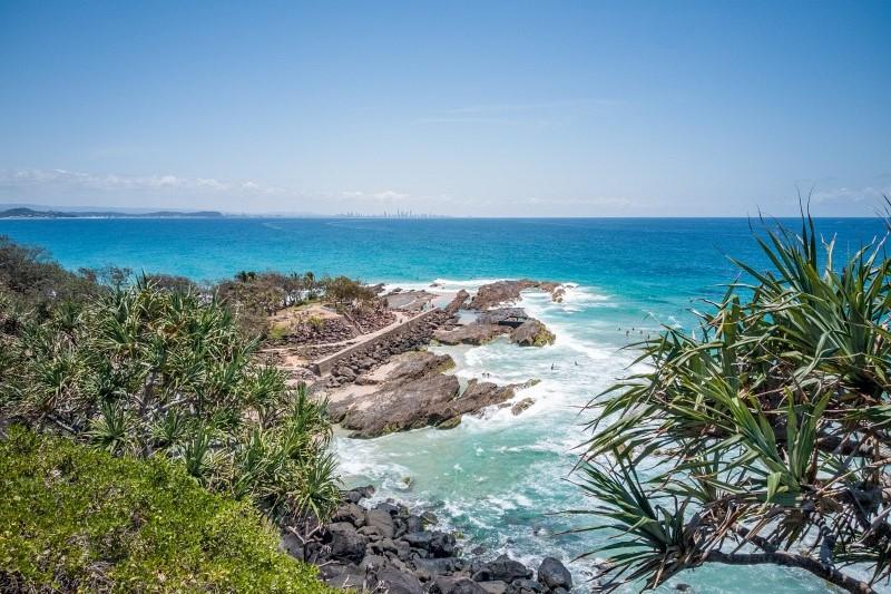 Auf dem Weg zur Gold Coast