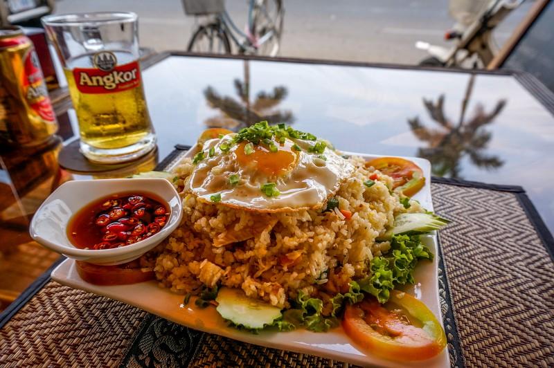 Reisgericht in Kambodscha