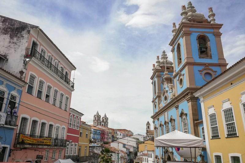 Altstadt Salvador da Bahia in Brasilien