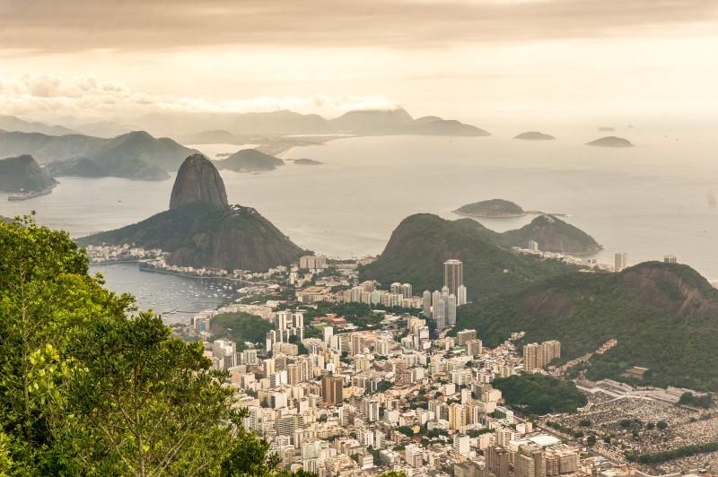Blick auf den Zuckerhut in Rio de Janeiro