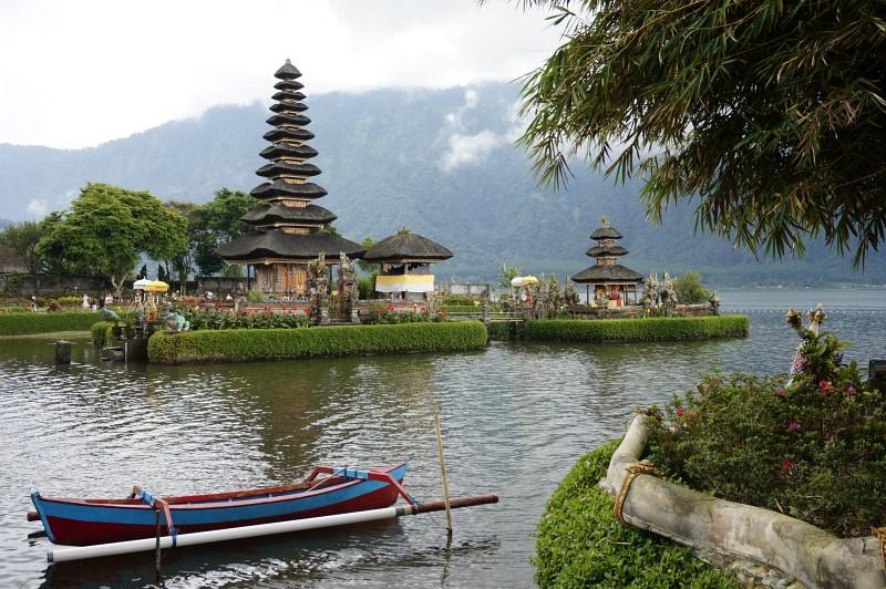 Bratan Tempel Bali