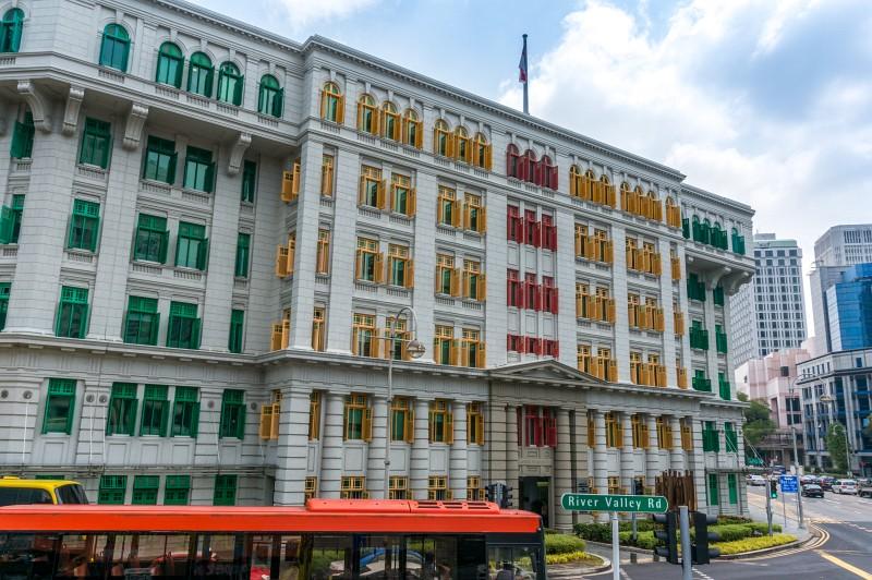 Colorful building Singapur