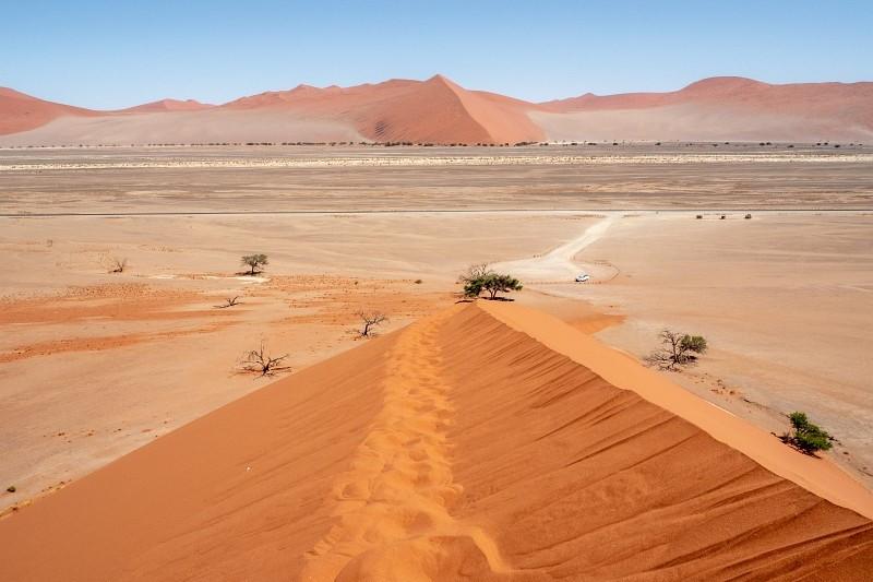 Düne 45 Sossusvlei in Namibia