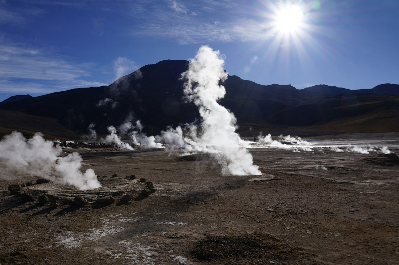 El Tatio Geysir Atacama