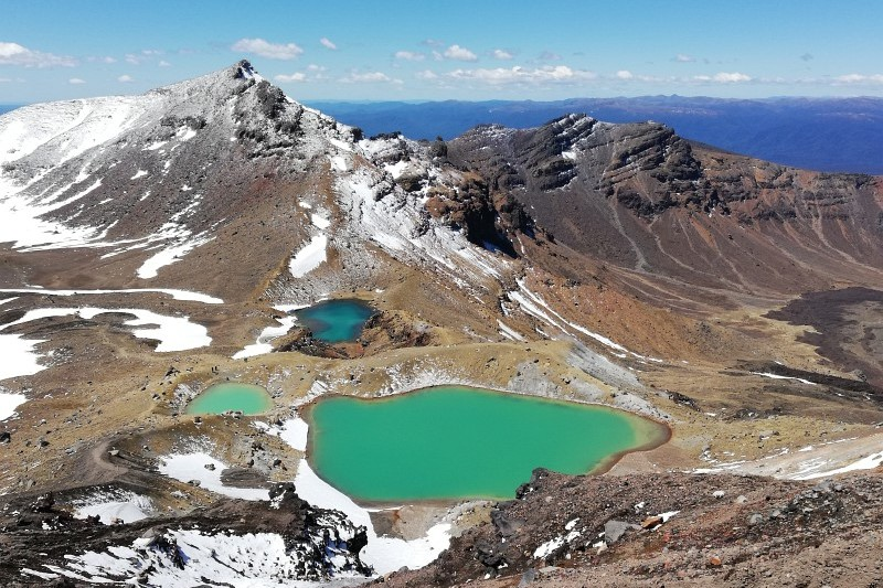 Emerald Lake Tongariro Alpine Crossing