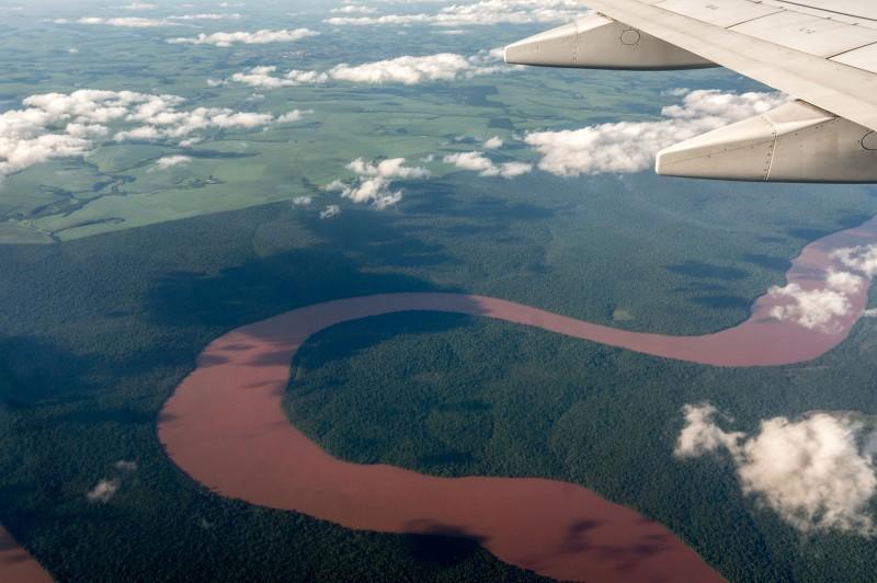 Flug nach Iguacu in Brasilien