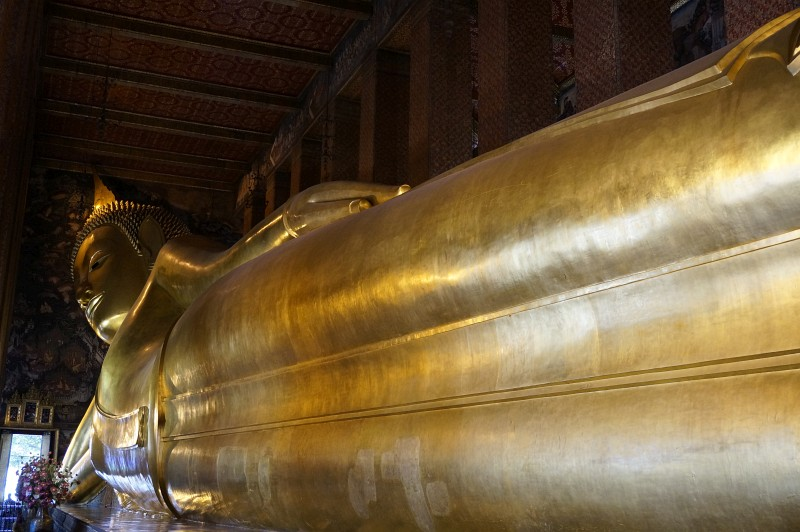 Goldener Buddha in Bangkok