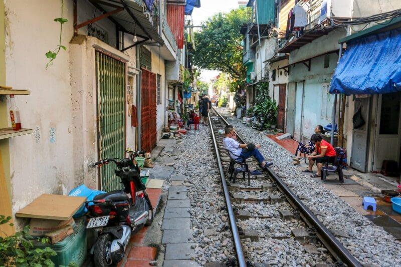 Hanoi - Train Street