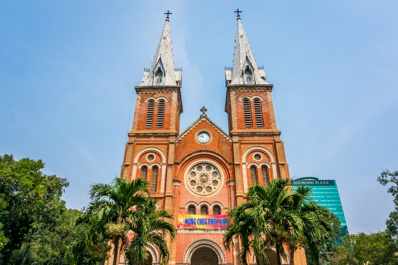 Notre Dame in Ho Chi Minh