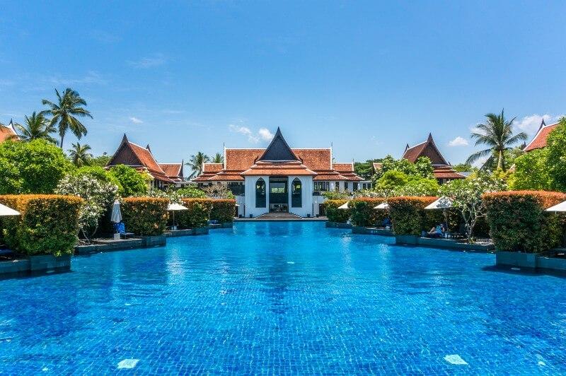 Hotelpool Khao Lak im Marriott
