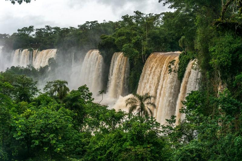 Iguazu Wasserfälle in Argentinien