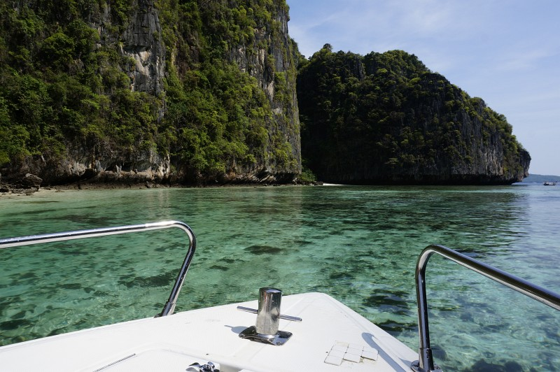 In der Bucht von Phang Nga