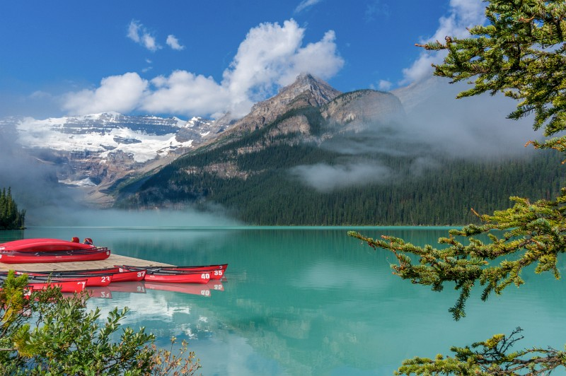 Lake Louise - Rocky Mountains in Kanada