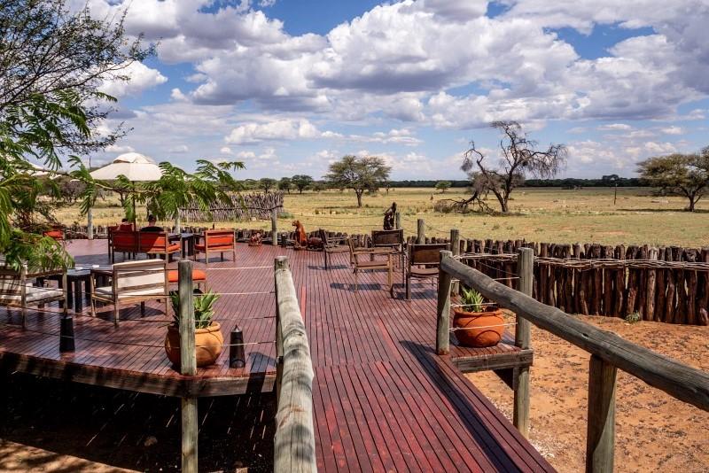 Gemütliche Lodge irgendwo in Namibia