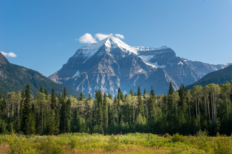 Mt Robson Rocky Mountains