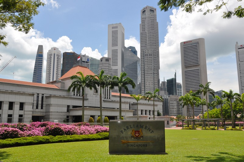 Parlament in Singapur