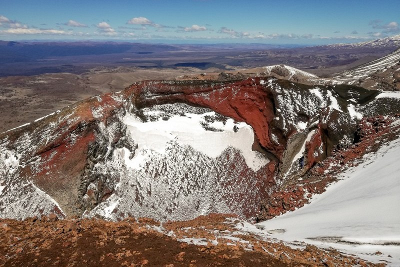 Red Crater Tongariro Alpine Crossing
