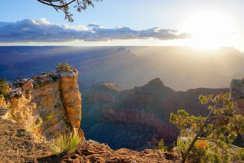 Sonnenaufgang Grand Canyon