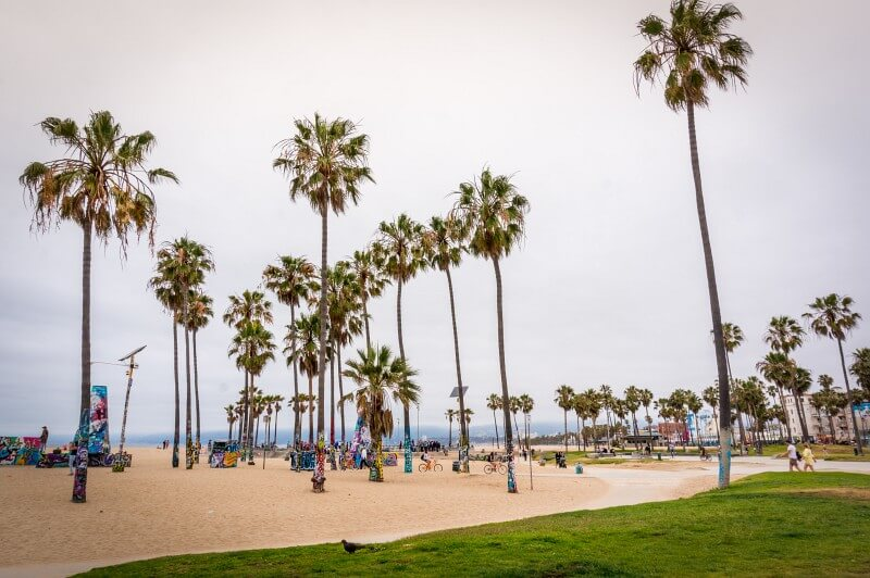 Venice Beach in den USA