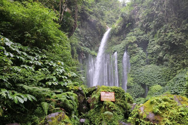 Wasserfälle Lombok