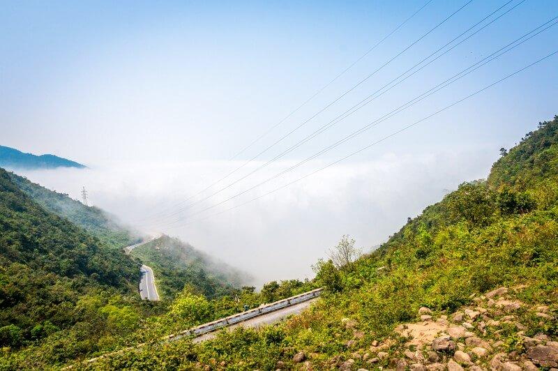 Der Wolkenpass in Vietnam